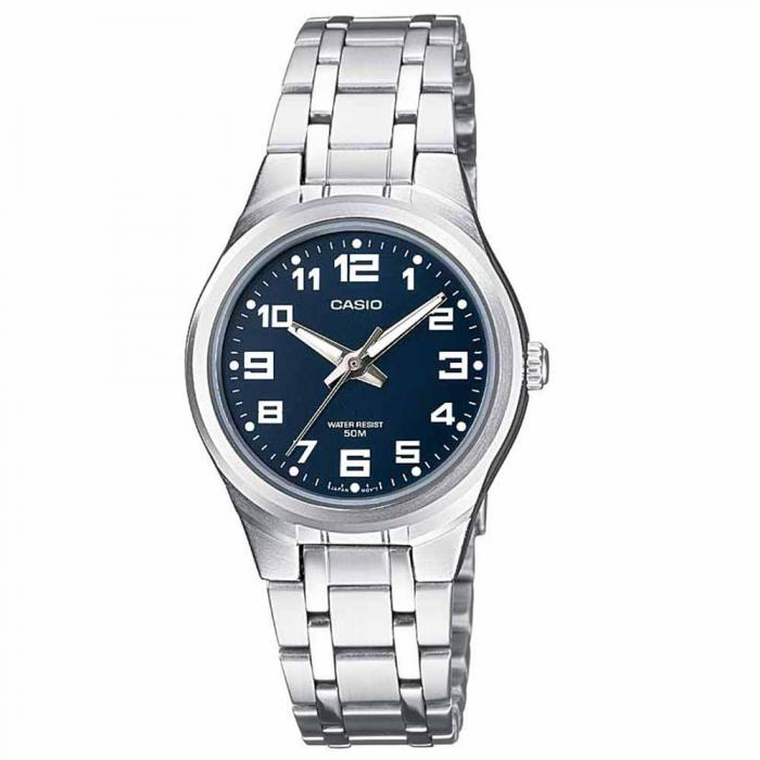 SKU-19643 / CASIO Collection Stainless Steel Bracelet Blue Dial