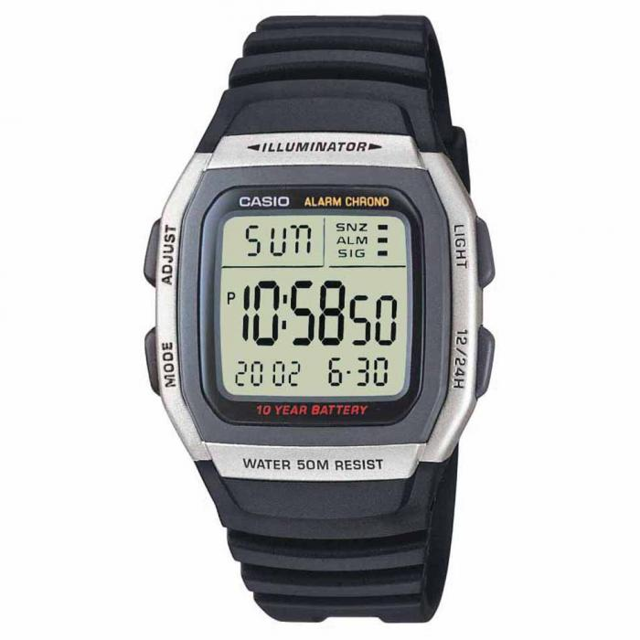 SKU-20710 / CASIO Collection Black Rubber Strap