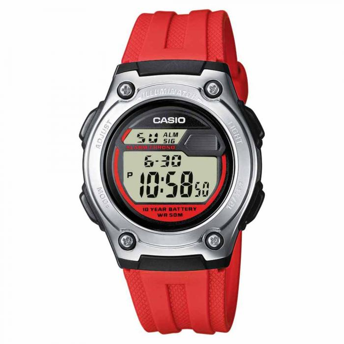 SKU-20659 / CASIO Collection Red Rubber Strap