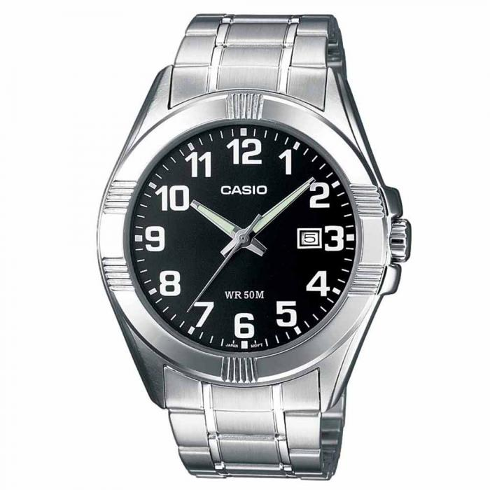 SKU-20292 / CASIO Collection Stainless Steel Bracelet Black Dial