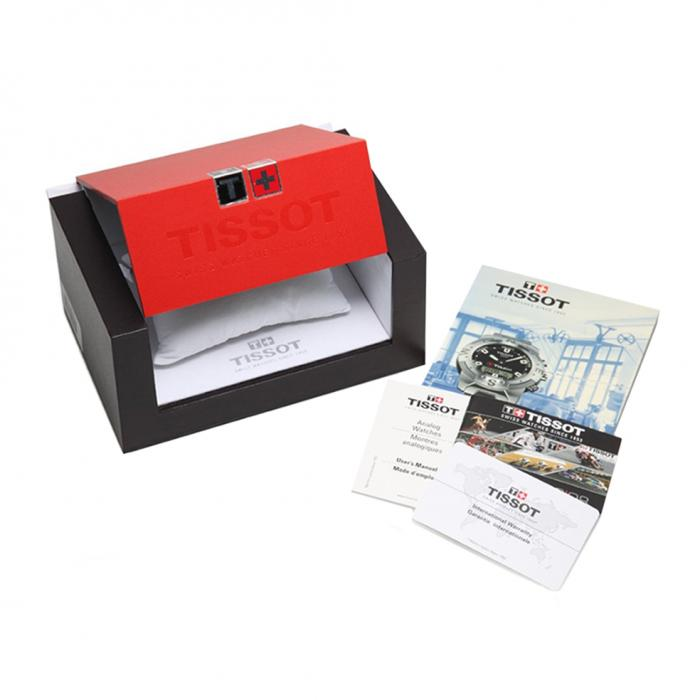 SKU-20410 / TISSOT PRS 516 Chronograph Black Leather Strap