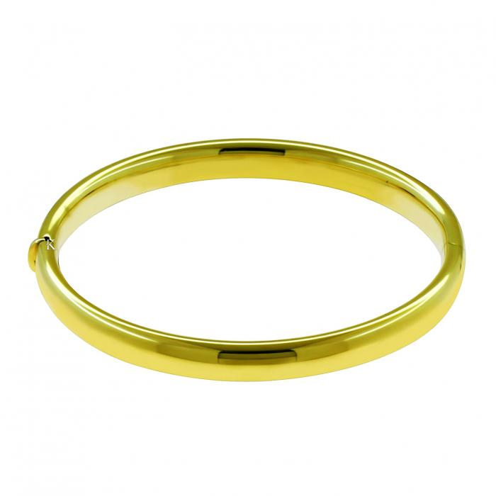 SKU-21792 / Βραχιόλι Χειροπέδα  Χρυσό Κ14
