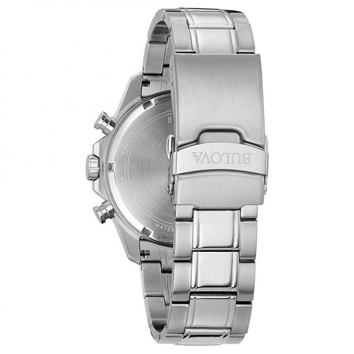 SKU-21987 / BULOVA Marine Star Chronograph Stainless Steel Bracelet