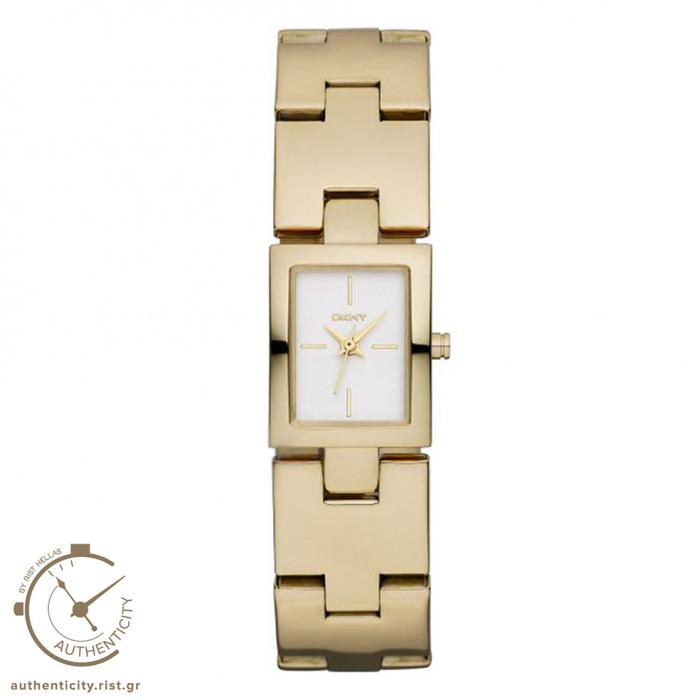 SKU-21352 / DKNY Gold Stainless Steel Bracelet