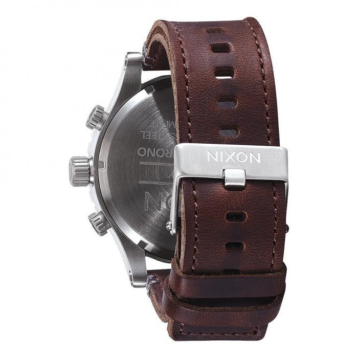 SKU-21496 / NIXON 51-30 Brown Leather Strap