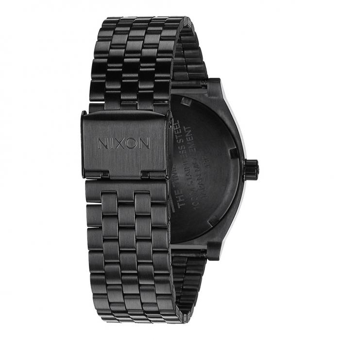 SKU-21510 / NIXON Time Teller Black Stainless Steel Bracelet