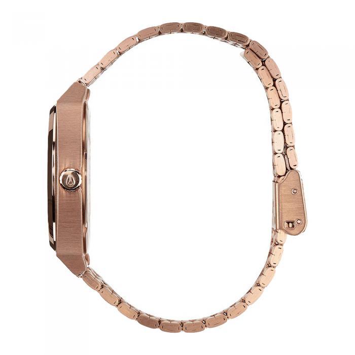 NIXON Time Teller Rose Gold Stainless Steel Bracelet
