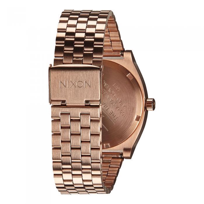 SKU-21516 / NIXON Time Teller Rose Gold Stainless Steel Bracelet