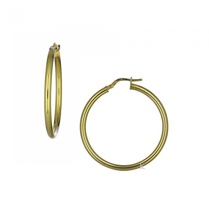 SKU-21460 / Σκουλαρίκια Κρίκοι Ασήμι 925°