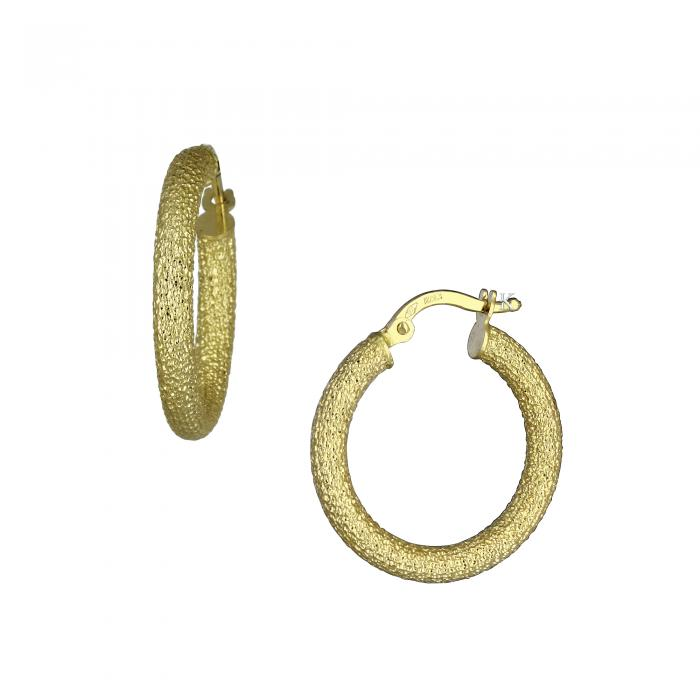 SKU-21808 / Σκουλαρίκια Χρυσός Κ14