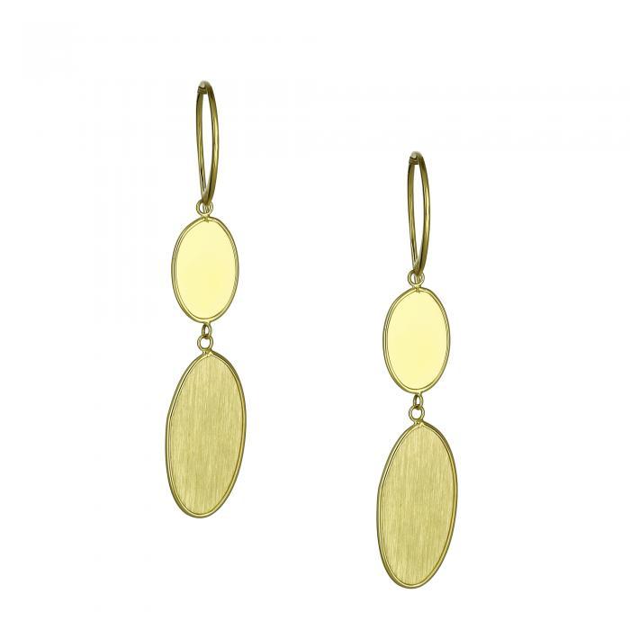 SKU-21844 / Σκουλαρίκια Χρυσός Κ14