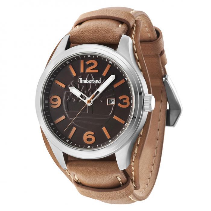 SKU-21423 / TIMBERLAND Moringa Brown Leather Strap