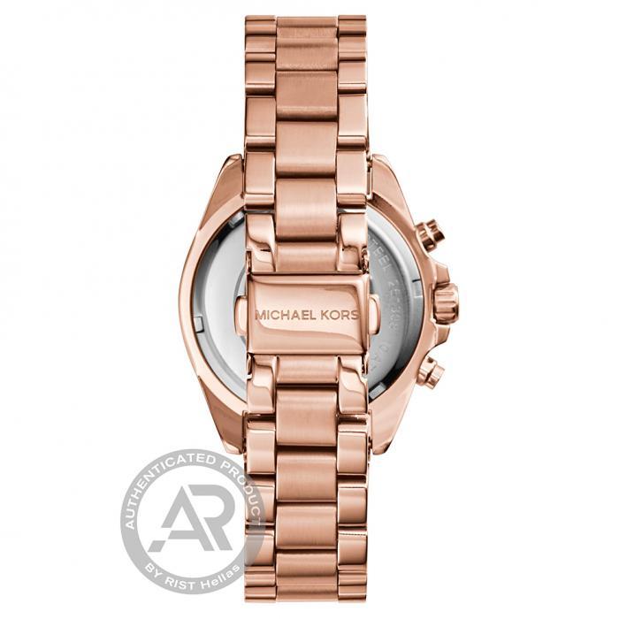 SKU-22127 / MICHAEL KORS Bradshaw Rose Gold Stainless Steel Bracelet