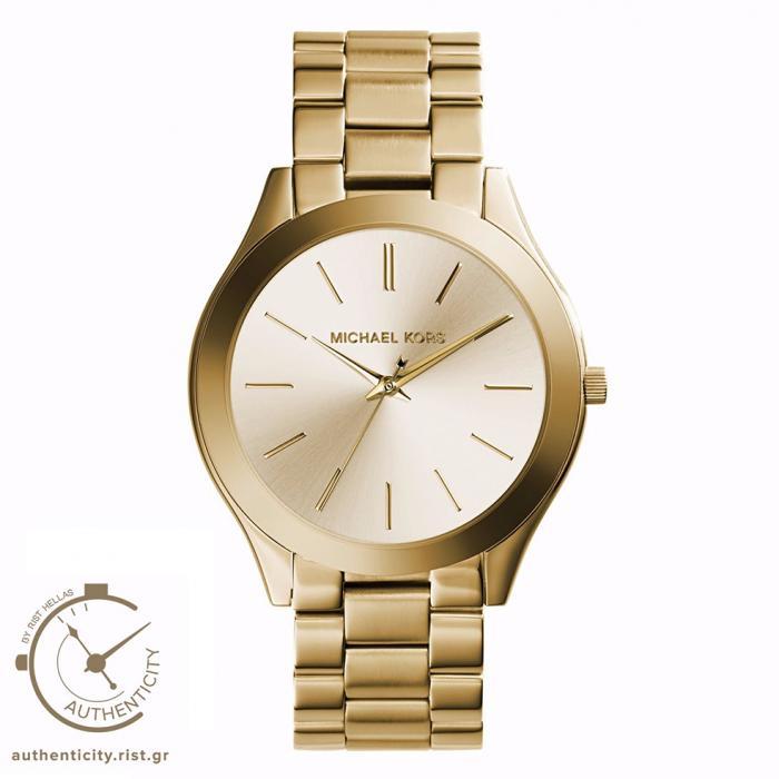 SKU-22118 / MICHAEL KORS Runway Gold Stainless Steel Bracelet