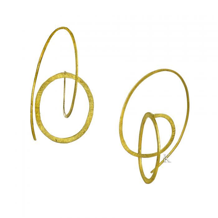 SKU-22800 / Σκουλαρίκια Χρυσός Κ14