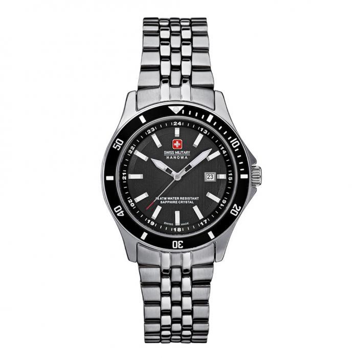 SKU-22993 / SWISS MILITARY HANOWA Worldtimer Bracelet