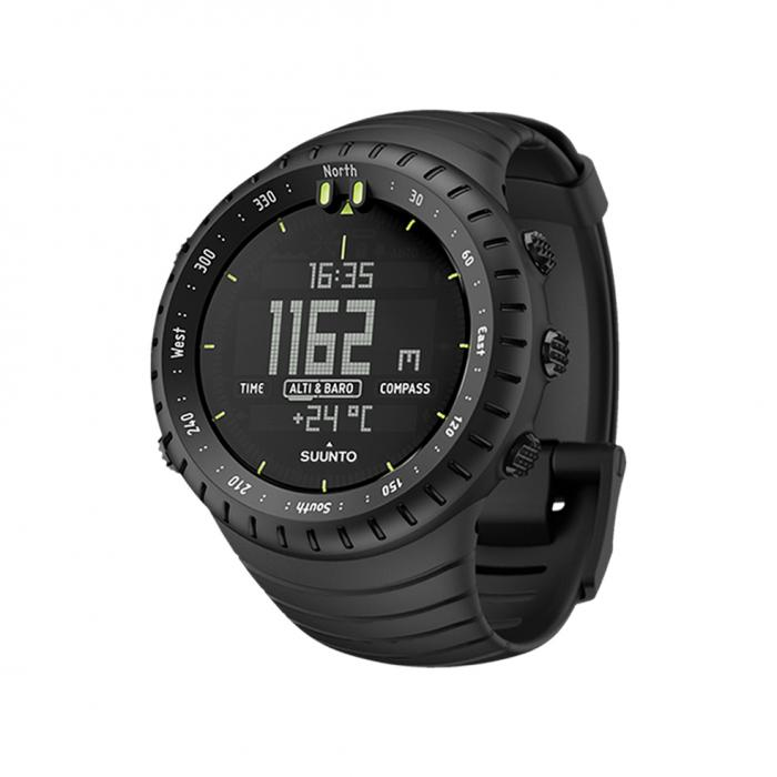 SKU-23102 / SUUNTO Core Classic All Black Black Rubber Strap