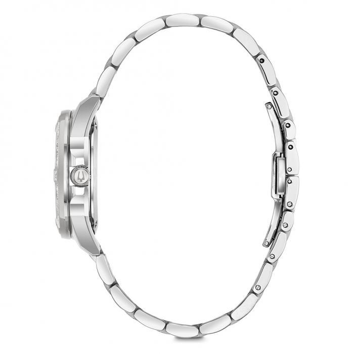 SKU-24835 / BULOVA Marine Stars Diamonds Stainless Steel Bracelet