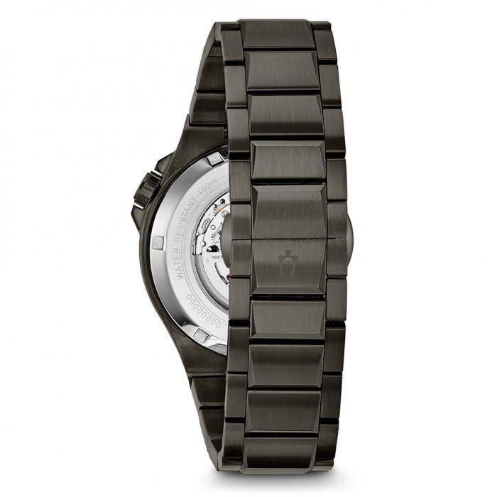 SKU-24834 / BULOVA Mechanic Automatic Black Stainless Steel Bracelet