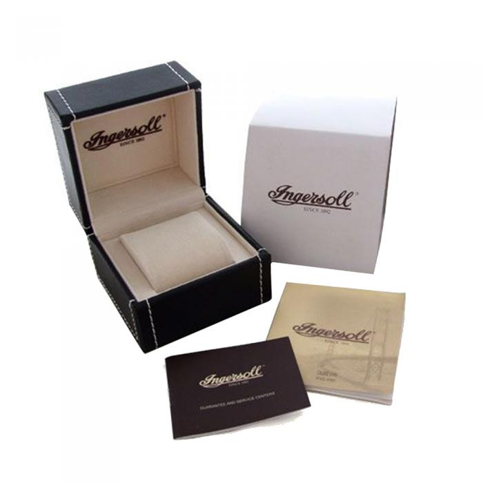 SKU-24778 / INGERSOLL Bloch Automatic Brown Leather Strap