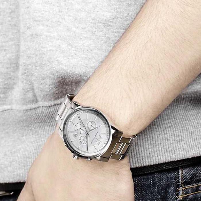 SKU-25461 / ARMANI EXCHANGE Outerbanks Stainless Steel Bracelet