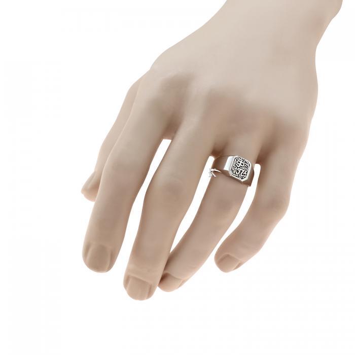 Δαχτυλίδι Λευκόχρυσος Κ14