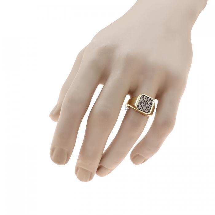 Δαχτυλίδι Χρυσός & Λευκόχρυσος Κ14