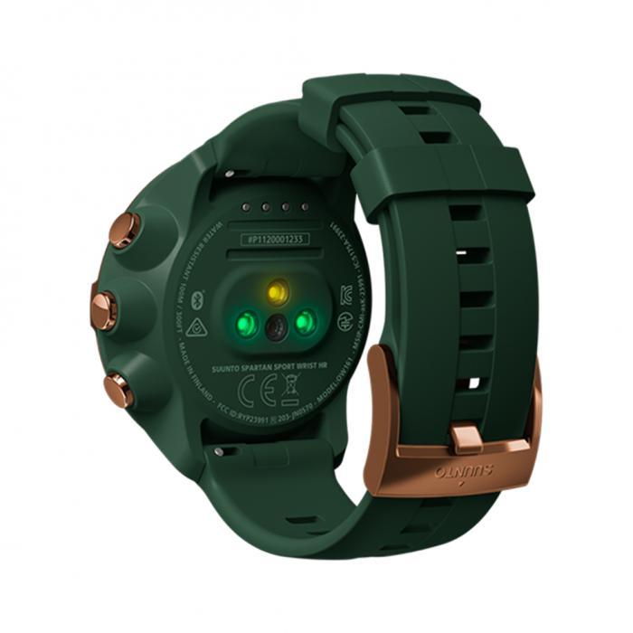SKU-26126 / SUUNTO Spartan Sport Wrist HR Forest Special Edition Green Silicone Strap