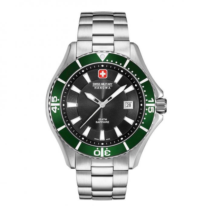 SKU-27466 / SWISS MILITARY HANOWA Nautila Stainless Steel Bracelet