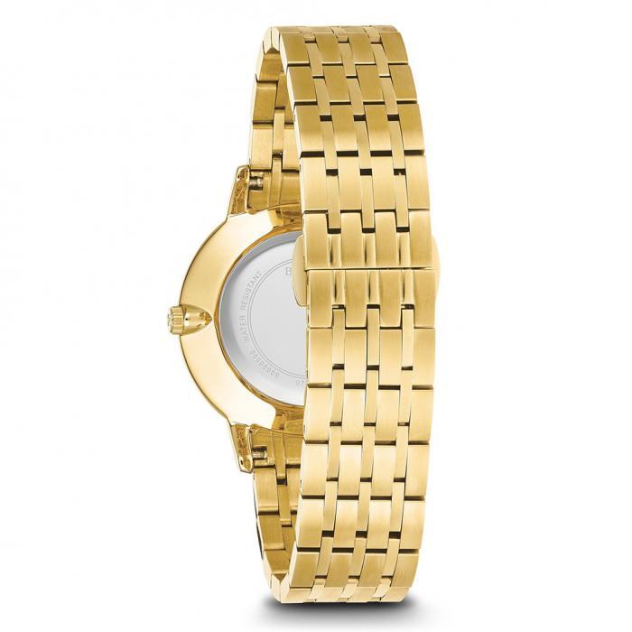 SKU-28869 / BULOVA Diamonds Gold Stainless Steel Bracelet