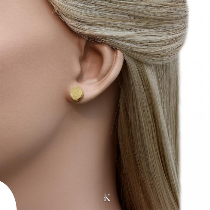 SKU-28258 / Σκουλαρίκια Χρυσός Κ14