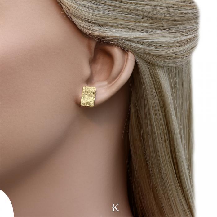 SKU-28334 / Σκουλαρίκια Χρυσός Κ14