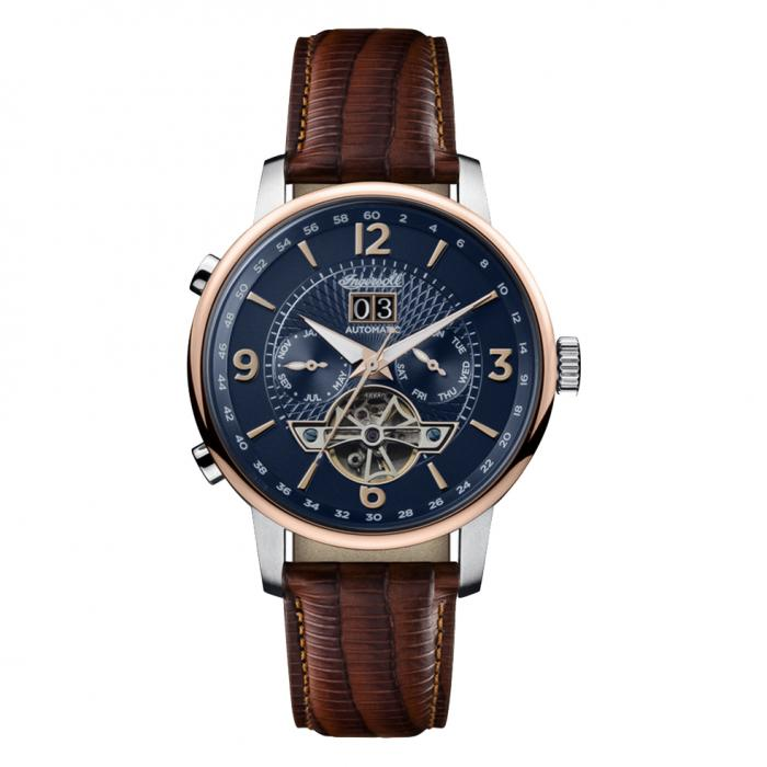 SKU-29832 / INGERSOLL Grafton Automatic Brown Leather Strap