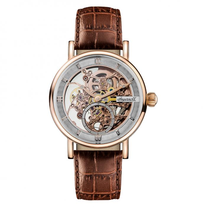 SKU-29833 / INGERSOLL Herald Automatic Brown Leather Strap