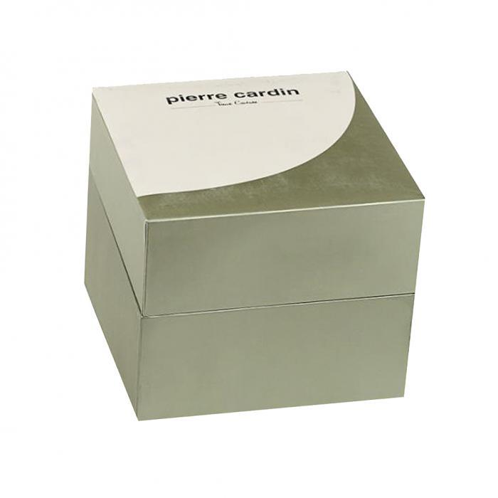 PIERRE CARDIN Troca Brown Leather Strap