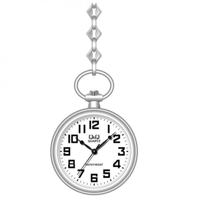 SKU-29423 / Q&Q Metal Ρολόι Τσέπης