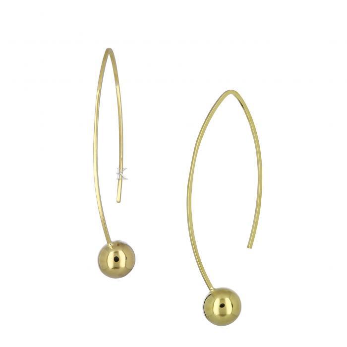 SKU-29994 / Σκουλαρίκια Χρυσός Κ14