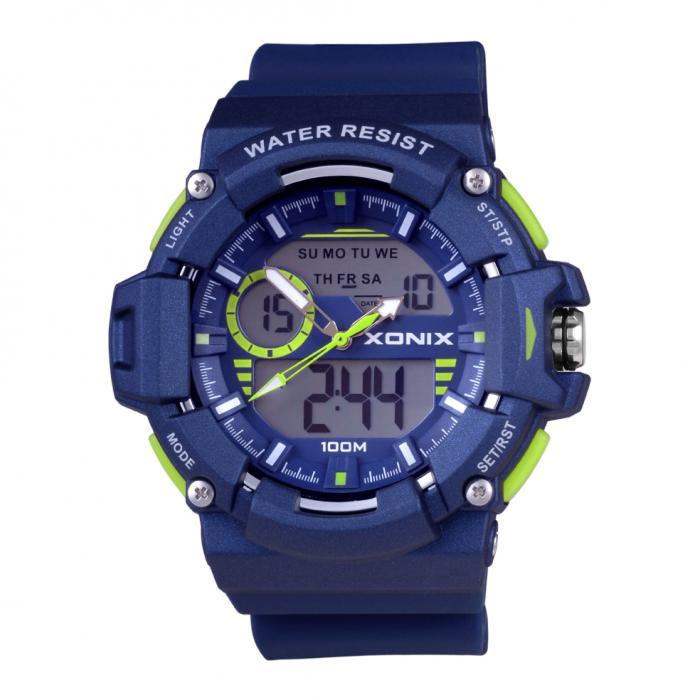 SKU-29074 / XONIX Anadigi Blue Silicone Strap