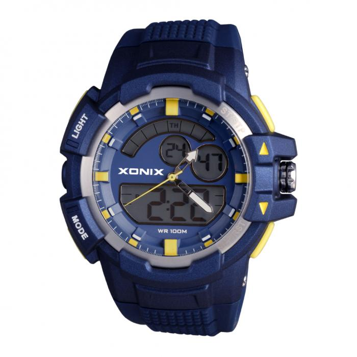 SKU-29076 / XONIX Anadigi Blue Silicone Strap