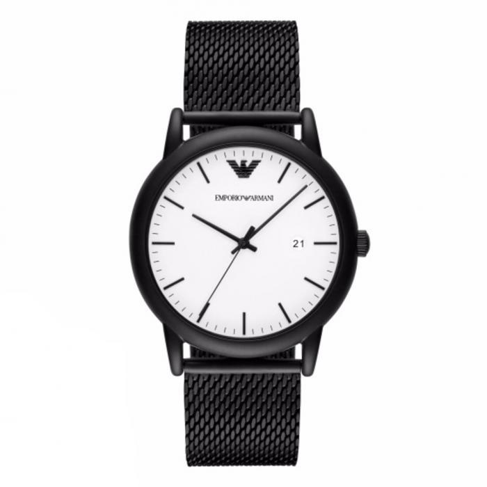 SKU-30250 / EMPORIO ARMANI Black Stainless Steel Bracelet
