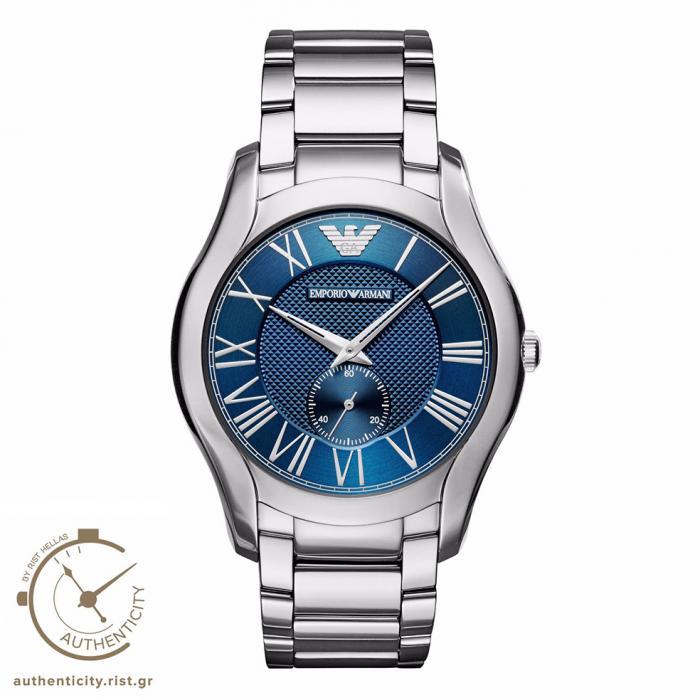 SKU-30204 / EMPORIO ARMANI Silver Stainless Steel Bracelet