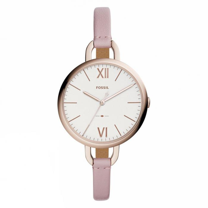 SKU-30418 / FOSSIL Annette Pink Leather Strap