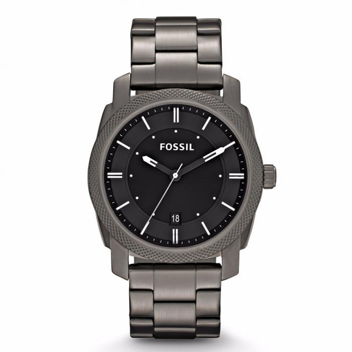 SKU-30505 / FOSSIL Machine Grey Stainless Steel Bracelet