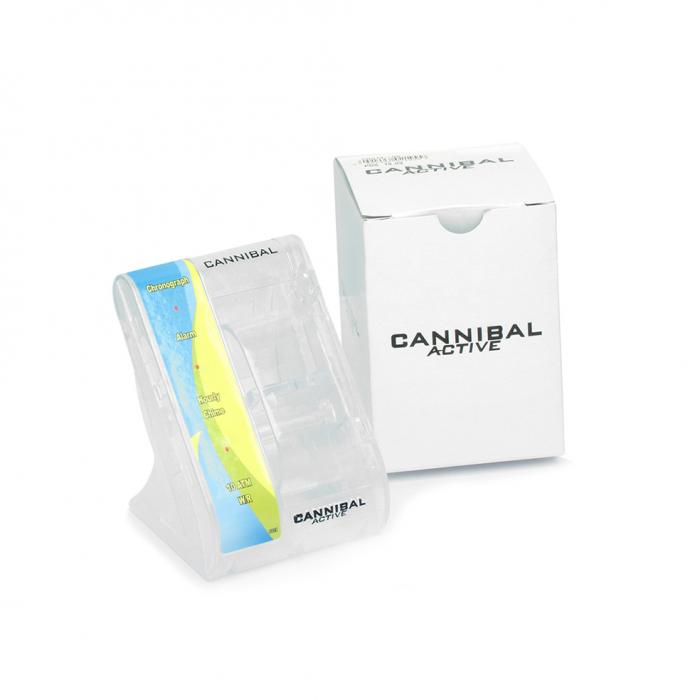 CANNIBAL White Leather Strap