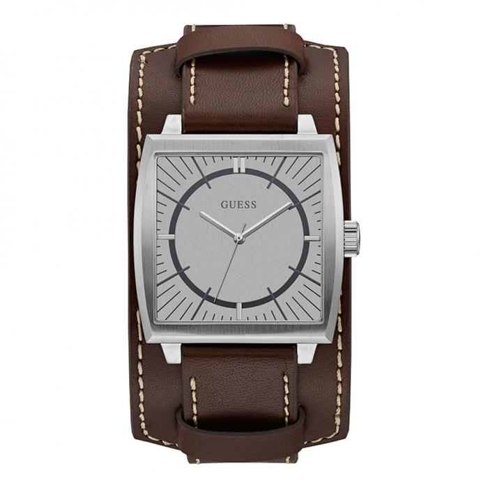 SKU-31166 / GUESS Brown Leather Strap