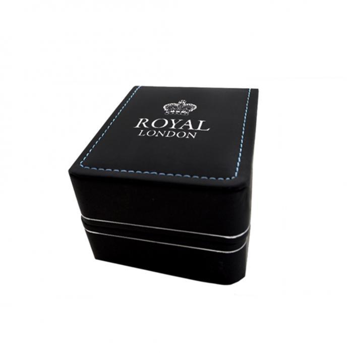 SKU-31656 / ROYAL LONDON Classic Stainless Steel Bracelet