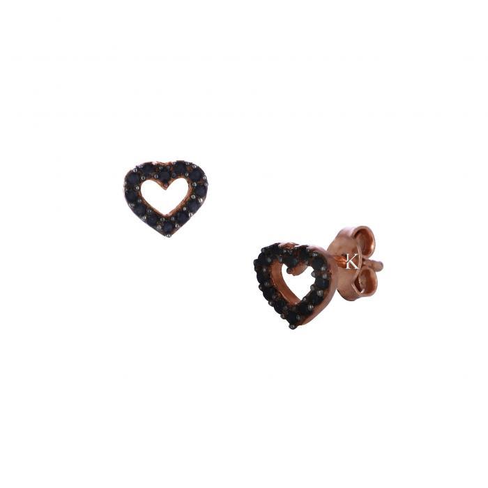 Σκουλαρίκια  Ασήμι 925° με Ζιργκόν