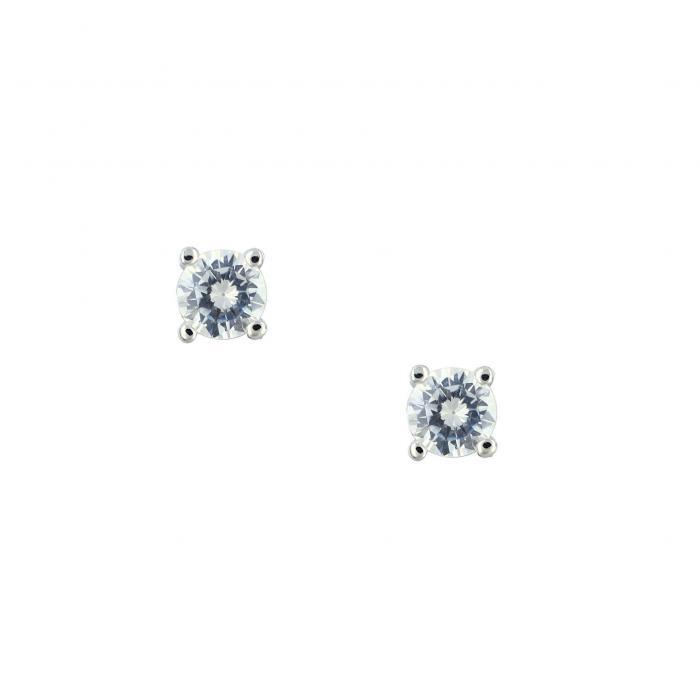 SKU-31126 / Σκουλαρίκια Ασήμι 925° με Ζιργκόν