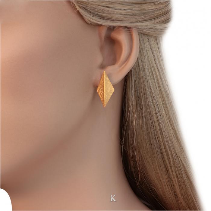 SKU-31455 / Σκουλαρίκια Χρυσός Κ14