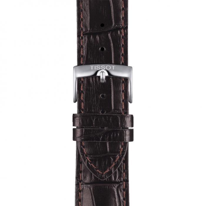 TISSOT T-Sport Chrono XL Brown Leather Strap